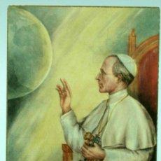 Cartes Postales: RECORDATORIO PAPA PÍO XII PIUS PP RECUERDO PEREGRINACIÓN MILITAR ROMA 1950 AÑO SANTO. Lote 219267678