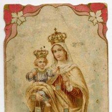 Postales: NUESTRA SEÑORA DEL CARMEN ESCRITA POR DETRAS AÑO 1915. Lote 29071937