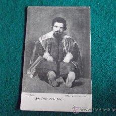 Postales: POSTAL- ANTIGUA-DON SEBASTIAN DE MORRA-VELAZQUEZ-MUSEO DEL PRADO. Lote 29329179