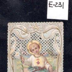 Postales: ESTAMPA PUNTILLA - NIÑO JESUS - 7 X 11 CM.- (E-231). Lote 29387001