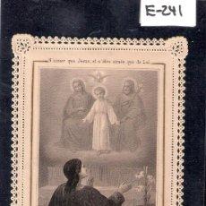 Postales: ESTAMPA PUNTILLA - 8 X 12 CM.- (E-241). Lote 29387206