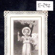 Postales: ESTAMPA ANTIGUA PUNTILLA - (E-297). Lote 29628331