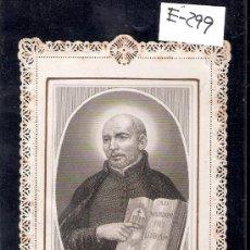 Postales: ESTAMPA ANTIGUA PUNTILLA - SAN IGNACIO DE LOYOLA -(E-299). Lote 29628347