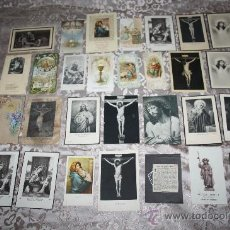 Postcards - LOTE DE 29 ESTAMPAS RELIGIOSAS EN B/N Y A COLOR - 98513363