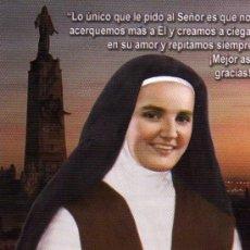 Postales: MADRE MARIA JOSEFA DEL CORAZÓN DE JESÚS SIERVA DE DIOS CARMELITA DESCALZA. Lote 29676199