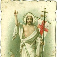 Postales: POSTAL RELIGIOSA TROQUELADA CRISTO PRINCIPIOS SIGLO XX. Lote 29709047