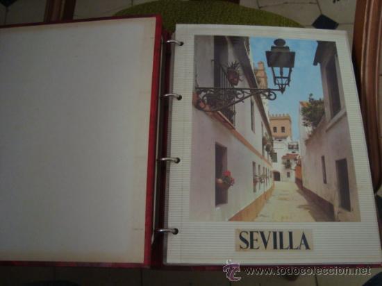 Postales: magnifico y curioso album de coleccionista de la ciudad de sevilla ysu semana santa , virgen cristo - Foto 90 - 29942249