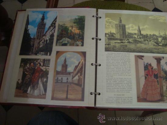 Postales: magnifico y curioso album de coleccionista de la ciudad de sevilla ysu semana santa , virgen cristo - Foto 89 - 29942249