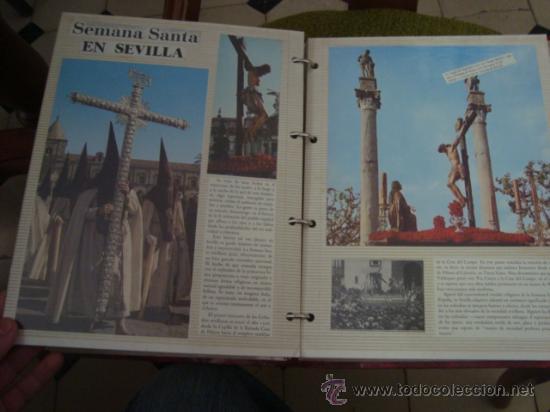 Postales: magnifico y curioso album de coleccionista de la ciudad de sevilla ysu semana santa , virgen cristo - Foto 83 - 29942249