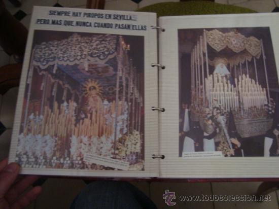 Postales: magnifico y curioso album de coleccionista de la ciudad de sevilla ysu semana santa , virgen cristo - Foto 82 - 29942249