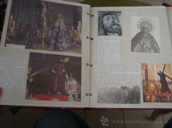 Postales: magnifico y curioso album de coleccionista de la ciudad de sevilla ysu semana santa , virgen cristo - Foto 81 - 29942249