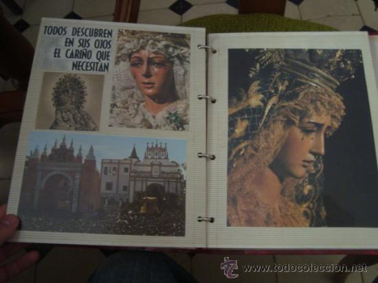 Postales: magnifico y curioso album de coleccionista de la ciudad de sevilla ysu semana santa , virgen cristo - Foto 80 - 29942249