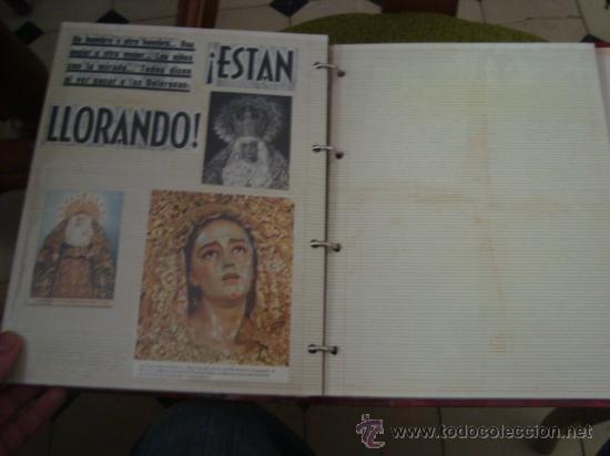 Postales: magnifico y curioso album de coleccionista de la ciudad de sevilla ysu semana santa , virgen cristo - Foto 79 - 29942249