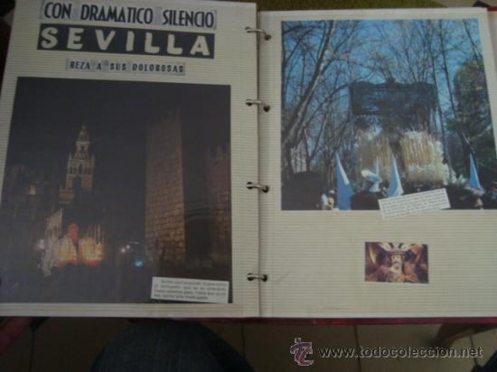 Postales: magnifico y curioso album de coleccionista de la ciudad de sevilla ysu semana santa , virgen cristo - Foto 78 - 29942249