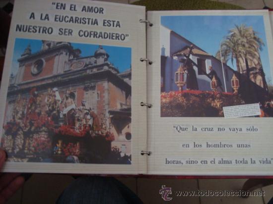 Postales: magnifico y curioso album de coleccionista de la ciudad de sevilla ysu semana santa , virgen cristo - Foto 76 - 29942249