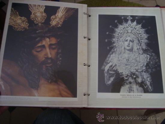 Postales: magnifico y curioso album de coleccionista de la ciudad de sevilla ysu semana santa , virgen cristo - Foto 75 - 29942249