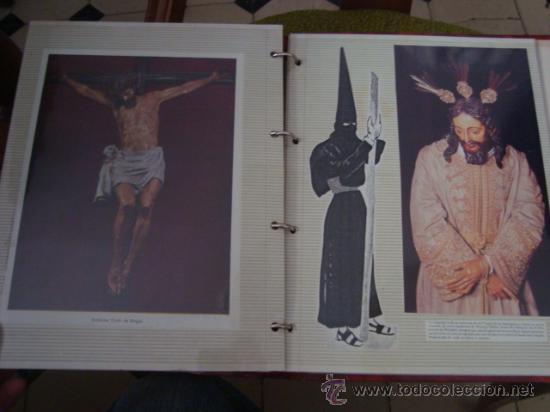 Postales: magnifico y curioso album de coleccionista de la ciudad de sevilla ysu semana santa , virgen cristo - Foto 74 - 29942249