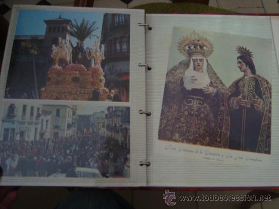 Postales: magnifico y curioso album de coleccionista de la ciudad de sevilla ysu semana santa , virgen cristo - Foto 73 - 29942249