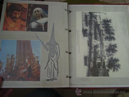 Postales: magnifico y curioso album de coleccionista de la ciudad de sevilla ysu semana santa , virgen cristo - Foto 72 - 29942249