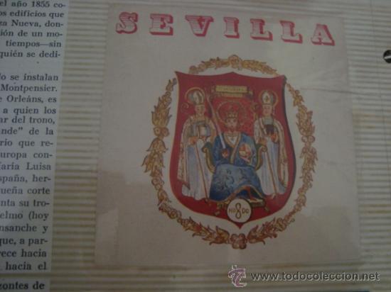 Postales: magnifico y curioso album de coleccionista de la ciudad de sevilla ysu semana santa , virgen cristo - Foto 60 - 29942249