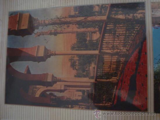 Postales: magnifico y curioso album de coleccionista de la ciudad de sevilla ysu semana santa , virgen cristo - Foto 48 - 29942249