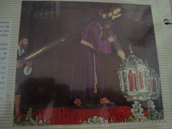 Postales: magnifico y curioso album de coleccionista de la ciudad de sevilla ysu semana santa , virgen cristo - Foto 32 - 29942249