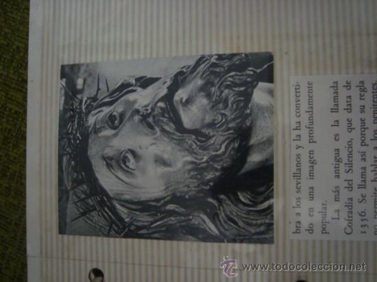 Postales: magnifico y curioso album de coleccionista de la ciudad de sevilla ysu semana santa , virgen cristo - Foto 31 - 29942249