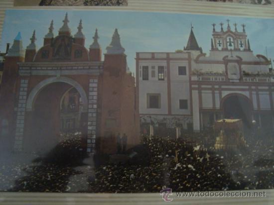 Postales: magnifico y curioso album de coleccionista de la ciudad de sevilla ysu semana santa , virgen cristo - Foto 26 - 29942249