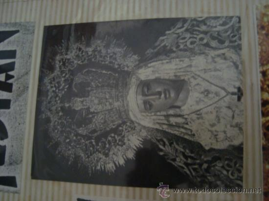 Postales: magnifico y curioso album de coleccionista de la ciudad de sevilla ysu semana santa , virgen cristo - Foto 24 - 29942249