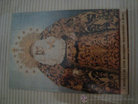 Postales: magnifico y curioso album de coleccionista de la ciudad de sevilla ysu semana santa , virgen cristo - Foto 23 - 29942249