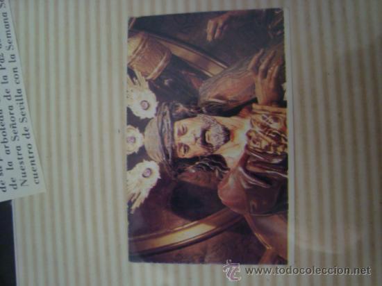 Postales: magnifico y curioso album de coleccionista de la ciudad de sevilla ysu semana santa , virgen cristo - Foto 20 - 29942249