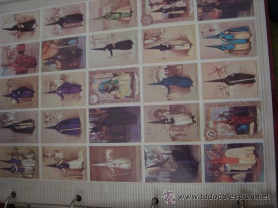 Postales: magnifico y curioso album de coleccionista de la ciudad de sevilla ysu semana santa , virgen cristo - Foto 17 - 29942249