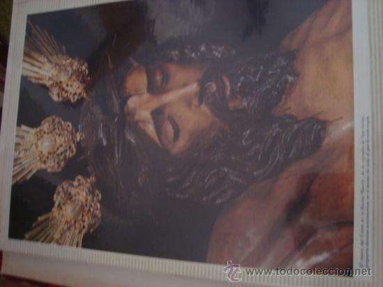 Postales: magnifico y curioso album de coleccionista de la ciudad de sevilla ysu semana santa , virgen cristo - Foto 15 - 29942249