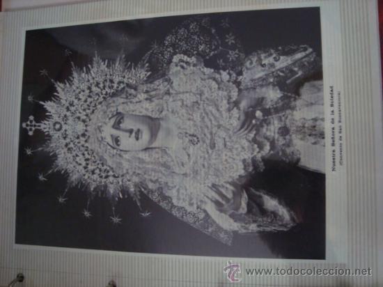 Postales: magnifico y curioso album de coleccionista de la ciudad de sevilla ysu semana santa , virgen cristo - Foto 14 - 29942249