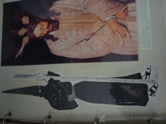 Postales: magnifico y curioso album de coleccionista de la ciudad de sevilla ysu semana santa , virgen cristo - Foto 13 - 29942249