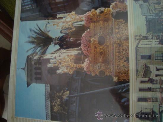 Postales: magnifico y curioso album de coleccionista de la ciudad de sevilla ysu semana santa , virgen cristo - Foto 10 - 29942249
