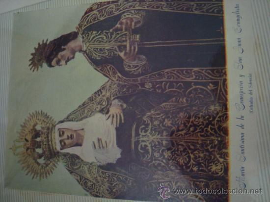 Postales: magnifico y curioso album de coleccionista de la ciudad de sevilla ysu semana santa , virgen cristo - Foto 7 - 29942249