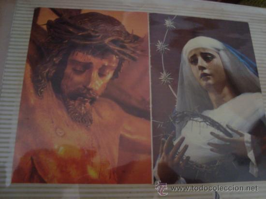 Postales: magnifico y curioso album de coleccionista de la ciudad de sevilla ysu semana santa , virgen cristo - Foto 5 - 29942249