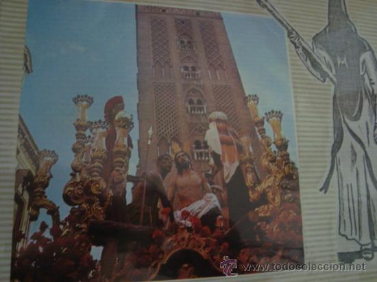 Postales: magnifico y curioso album de coleccionista de la ciudad de sevilla ysu semana santa , virgen cristo - Foto 8 - 29942249
