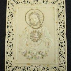 Postales: ESTAMPA RELIGIOSA EN CELULOIDE. CON RELIEVE. (11,5 X 8,5 CM.) . Lote 29985579