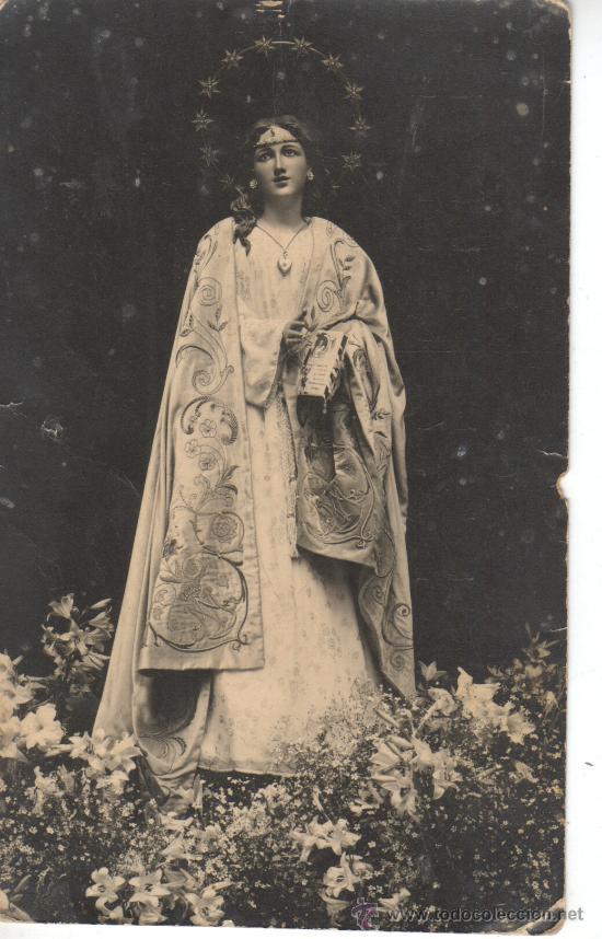 POSTAL FOTO RELIGIOSA VIRGEN (Postales - Postales Temáticas - Religiosas y Recordatorios)