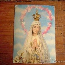 Postales: POSTAL RELIGIOSA . NTRA. SRA. DE FÁTIMA.. Lote 30407885