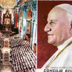 Postales: CONCILIO ECUMENICO VATICANO II A.D. 1962 ESCRITA SIN CIRCULAR . Lote 30447951