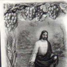 Postales: ESTAMPA RELIGIOSA - MES DEL SAGRADO CORAZÓN. Lote 30755230