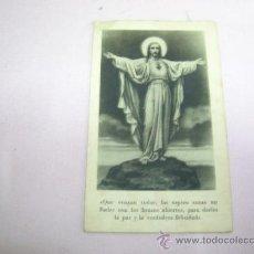 Postales: POSTAL CORAZÓN DE JESÚS. Lote 31018292