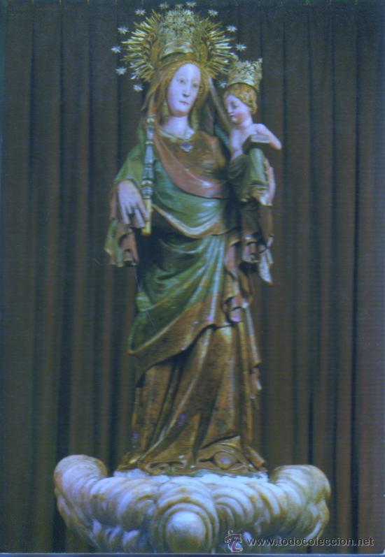 POSTAL DE LA MARE DE DEU DE LA SERRA - MONTBLANC Nº 6 DE RAYMOND (Postales - Postales Temáticas - Religiosas y Recordatorios)
