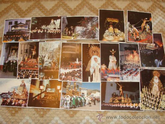 Postales: LOTE 210 POSTALES DE SEMANA SANTA: MÁLAGA, MARBELLA, FUENGIROLA, ANTEQUERA, RONDA. AÑOS 90. - Foto 3 - 41711119