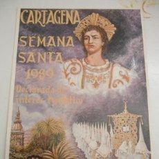 Postales: SEMANA SANTA CARTAGENA 1989. Lote 31179698
