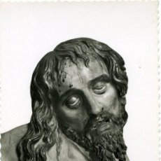 Postales: POSTAL ANTIGUA VALLADOLID IGLESIA SAN MARTÍN CRISTO DETALLE G. GARABELLA. Lote 31187778