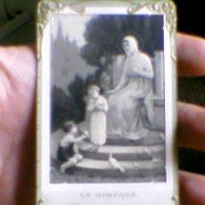 Postales: RECORDATORIO COMUNION IGLESIA CORAZON MARIA ZAMORA 1920 MBE. Lote 31198989